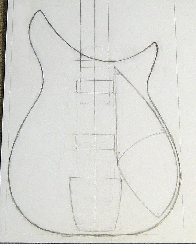 bass guitar body templates - 325build page one