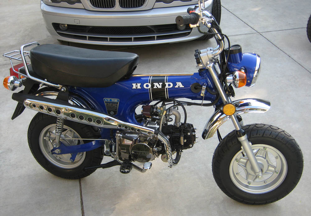 Img on Honda Trail 70 Clone
