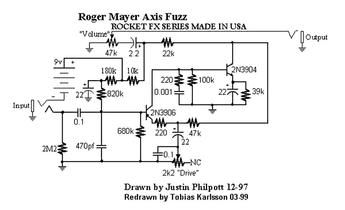 Guitar Fx Layouts Roger Mayer Axis Fuzz Looper Wiring Diagram 110