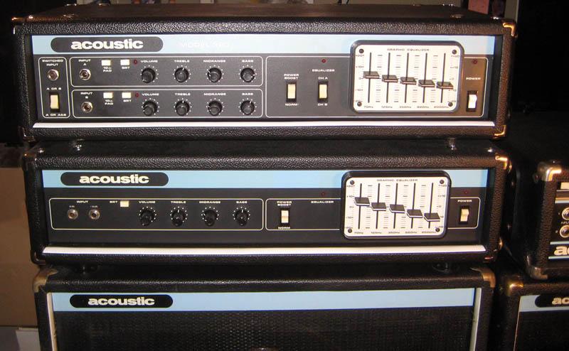 Vintage Acoustic amps 370 vs 320 | TalkBass.com
