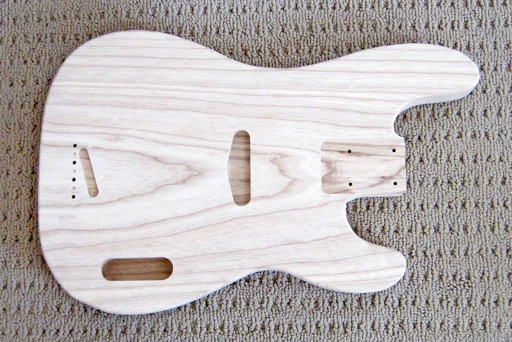 Alfa img - Showing > P Bass Guitar Body Templates