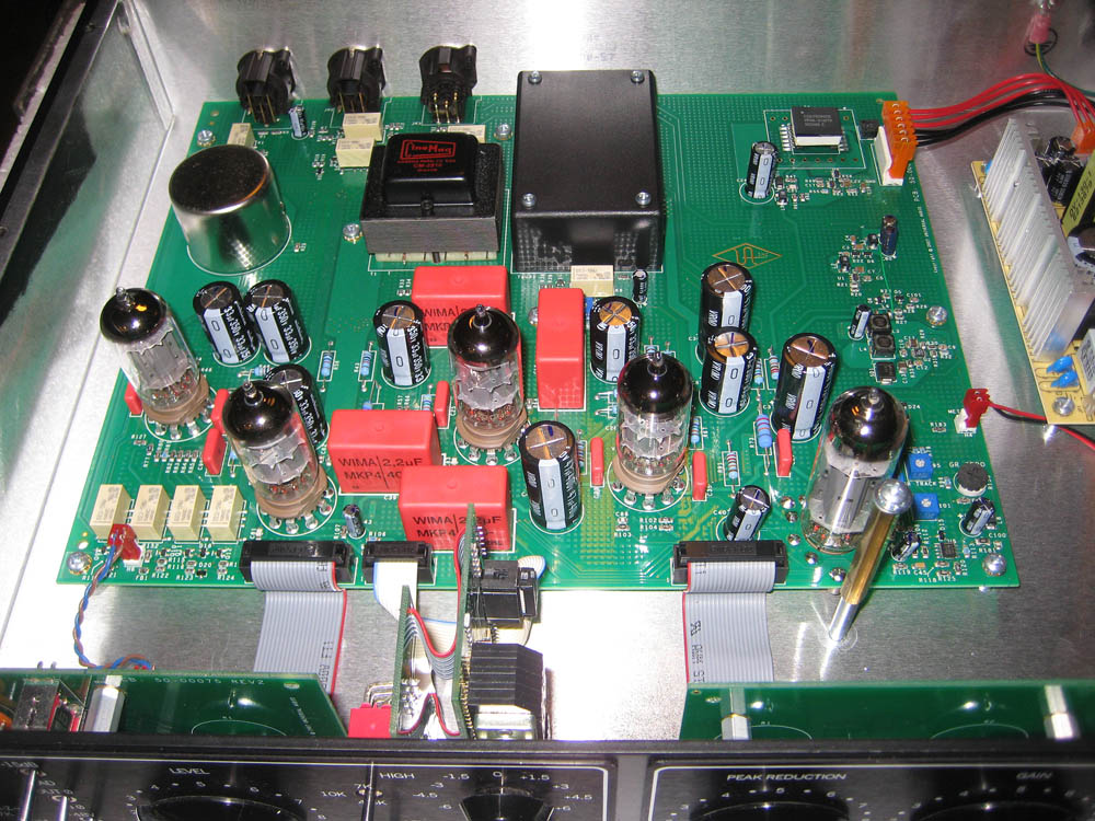 LA 610 Mk II inside view