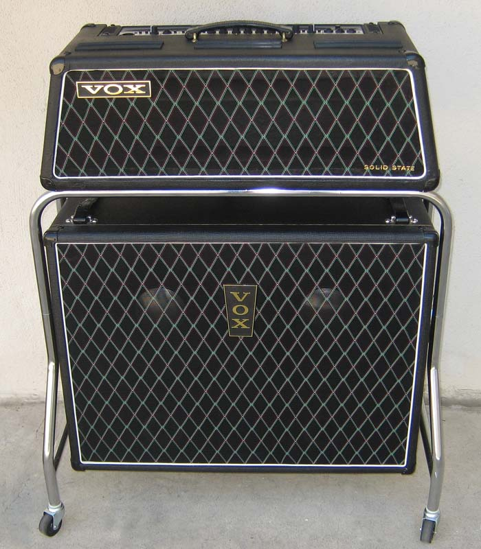 Vintage Vox Amplifier Teenage Sex Quizes